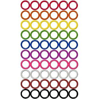 Colorful Iron O-Rings