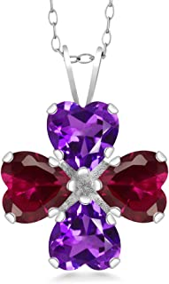Best amethyst and ruby pendant Reviews