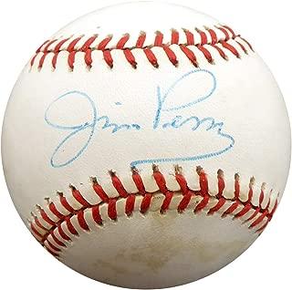 Jim Perry Autographed Official AL Baseball Cleveland Indians, Minnesota Twins Beckett BAS #F29665