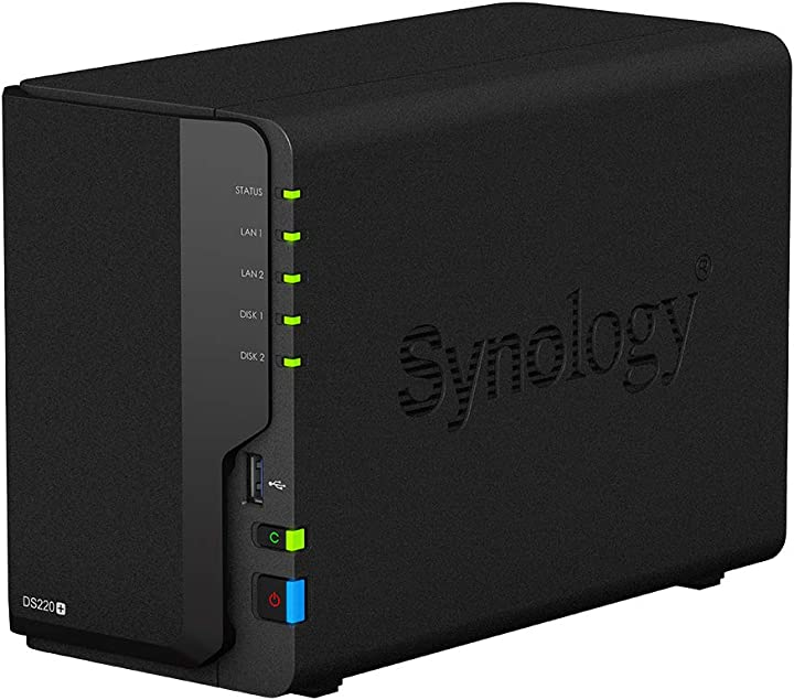 Ds220+ 2bay 2.0 ghz dc 2gb ddr4ext  synology B08BS4PW1B