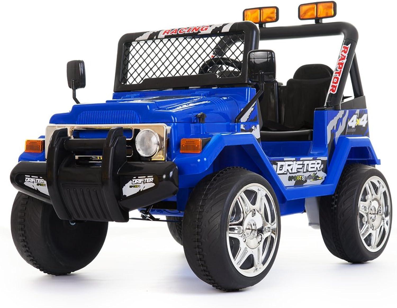 LK Motor 12V Battery Powered - 2 Seater 4x4 Truck (bluee)