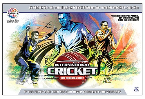 Ratna'S International Cricket Floor Game For Kids