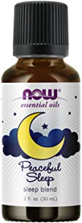 NOW Solutions Peaceful Sleep Essential Oil Blend, 1-Ounce