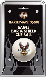 Harley-Davidson Bar & Shield Eagle Cue Ball