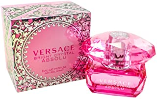 Versace Bright Crystal Absolu Eau de Parfum Spray for Women, Floral, 50 ml