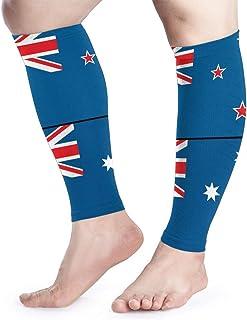 Manga de compresión para pantorrilla England Flag-01 Calf Shin admite calcetines de compresión para piernas - Hombres Mujeres