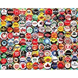 White Mountain Puzzles Beer Bottle Caps - 500 Piece Jigsaw Puzzle