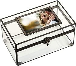J Devlin Box 603 Clear Glass Display Photo Box 6 x 10 x 5 1/2