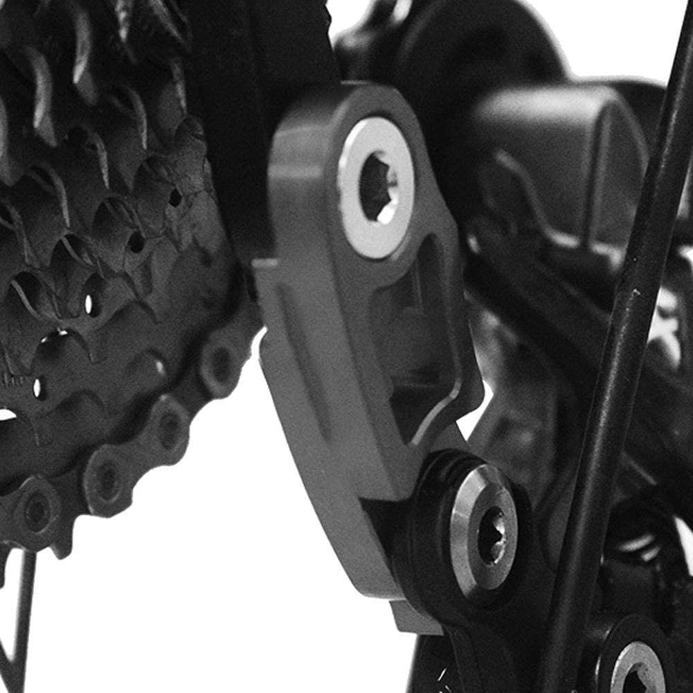 Rear Derailleur Hanger Delaman Bicycle Bike Rear Derailleur Hanger Extension Frame Gear Tail Hook Extender 1PC