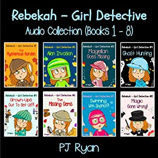 Rebekah - Girl Detective Books 1-8: Fun Short Story Mysteries                   Auteur(s):                                                                                                                                 PJ Ryan                               Narrateur(s):                                                                                                                                 Roxana Bell                      Durée: 4 h et 35 min     Pas de évaluations     Au global 0,0