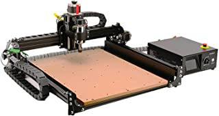 CNC Router Machine 4040-XE, 300W Spindle 3-Axis Engraving Milling Machine for Wood Metal Acrylic MDF Nylon Carving Cutting...