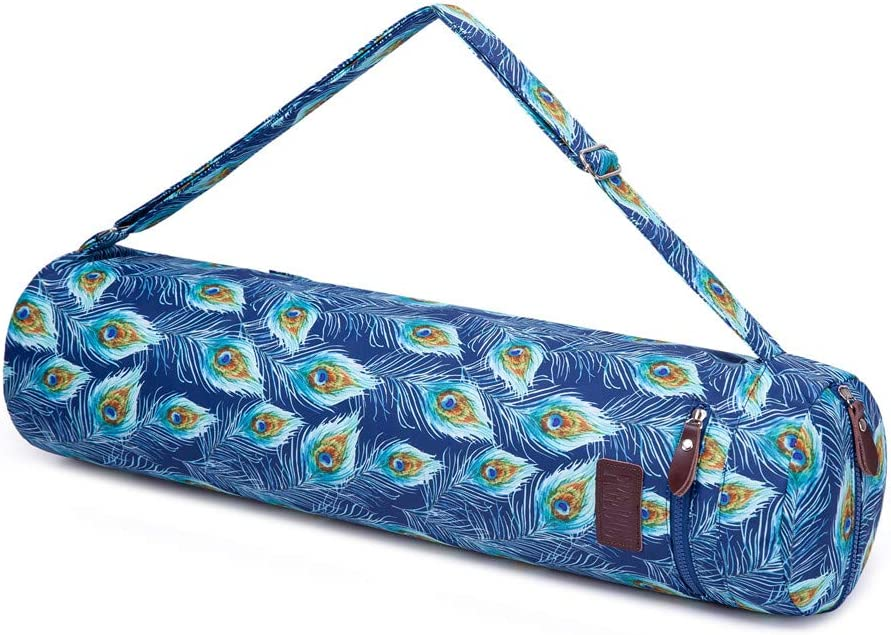 FREMOUS Bolsa de transporte para esterilla de yoga unisex port/átil con bolsillos de almacenamiento multiusos