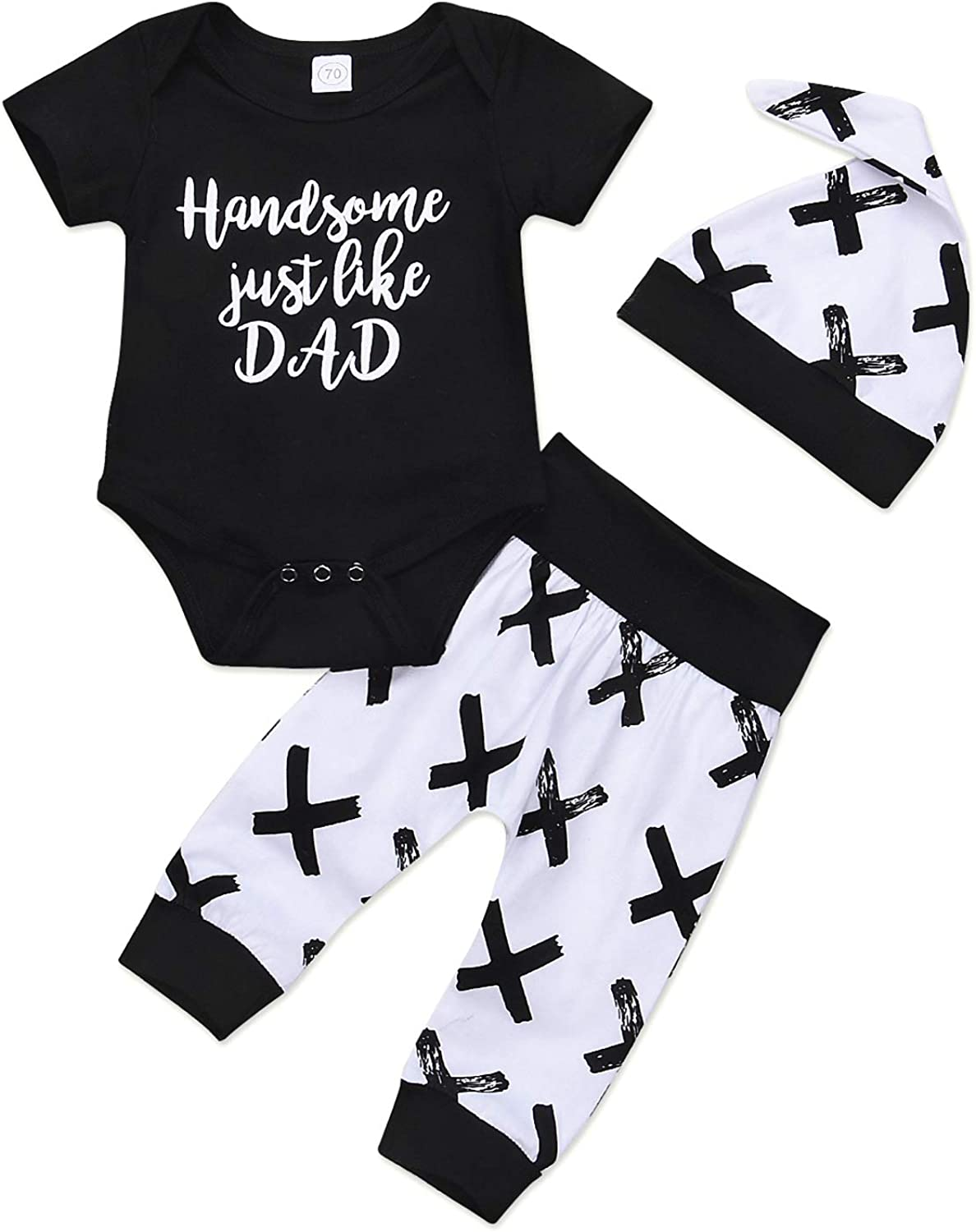 YFYBaby Toddler A surprise price is realized Infant Baby Boys Girls T-Shi Set Black Ranking TOP4 Halloween
