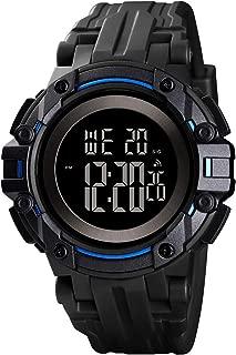 Men's Digital Watch Waterproof Sport Tactical Watches for Men with Stopwatch Alarm