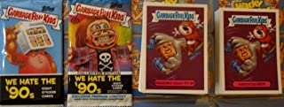 2019 GARBAGE PAIL KIDS WE Hate The 90'S Complete Set 220 Cards + Wrapper