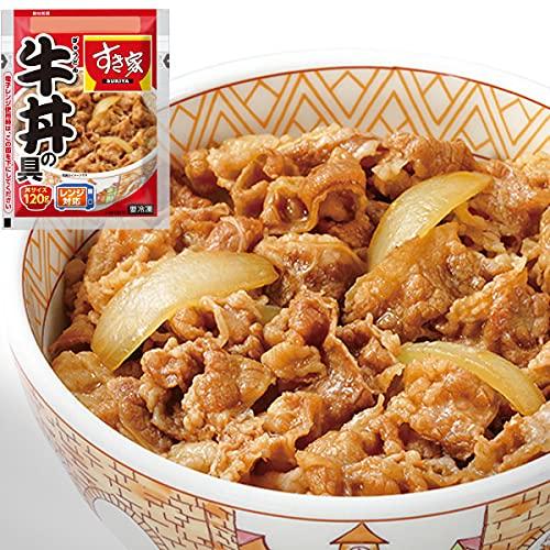 すき家 牛丼の具120g (10パック)