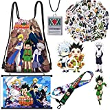 Hunter X Hunter Stickers+Backpack+Necklace+Poster+Brooch+Phone Holder+Lanyard (Poster)