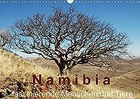Namibia - faszinierende Menschen und Tiere (Wandkalender 2022 DIN A3 quer): Menschen und Tiere Namibias - faszinierende, fremde Ansichten (Monatskalender, 14 Seiten )