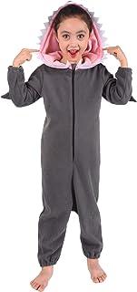 Kids Shark Onesie Pajamas Animal Shark Costume for Boys Girls Child
