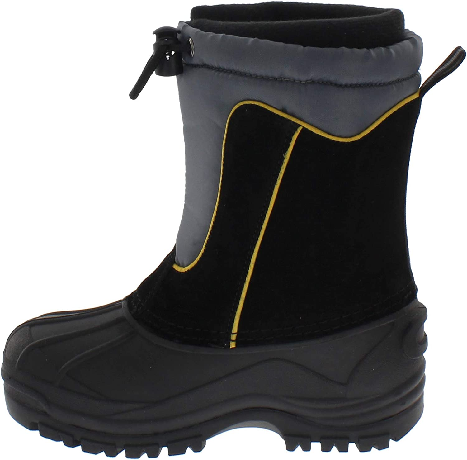 totes Kids Snow Boots with Max 74% OFF All-We Closure Max 85% OFF Action Bungee Toggle