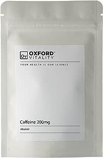 Oxford Vitality Comprimes Cafeine 200mg