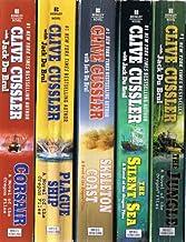 Clive Cussler: Oregon Files Collection of 8 Paperback Volumes: Corsair; Plague Ship; Skeleton Coast; The Silent Sea; The J...