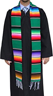 Del Mex Mexican Serape blanket Graduation Stole Sash Latino Hispanic