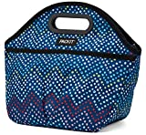 PackIt Freezable Traveler Lunch Bag, Dottie Chevron