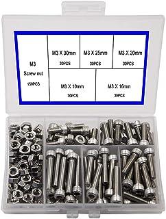VITI Pan Testa Auto Grande Testa Conica S//MENO acciaio 3mm x 20m per 20