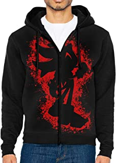 Full-Zip Men's Hooded Sweatshirt Shadow Hoodie Sweaters Pullover Hoody Fashion Jacket for Men and Women