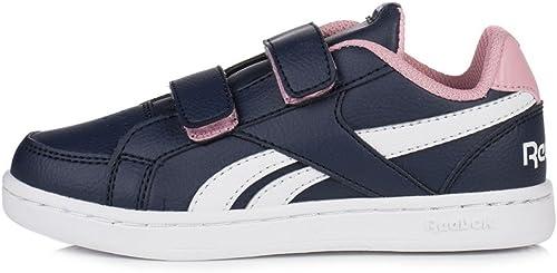 Reebok Royal Prime Alt Chaussures de Sport, Filles, Bleu (Navy Squad rose blanc)
