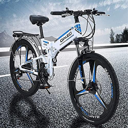 Bicicleta electrica Bicicleta Plegable, Bicicleta de montaña, ebike de 26 Pulgadas con...