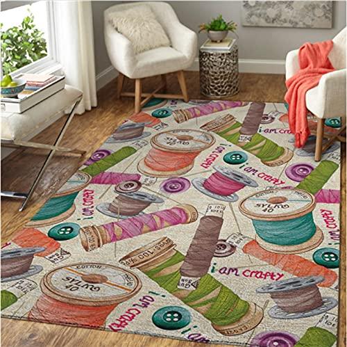 Haiqings Motorcycle Printed Mat Large Rug Carpet Home Decoration Living Print Bedroom Non-Slip Floor Rug 200x300cm