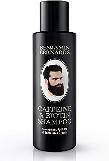 Caffeine & Biotin Shampoo - Hair Growth Shampoo for Men by Benjamin Bernard - Strengthen Hair Follicles, Stimulate Hair Gr...