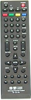 New Toshiba Universal Remote Control for All Toshiba BRAND TV, Smart TV - 1 Year Warranty(TS-13+AL)