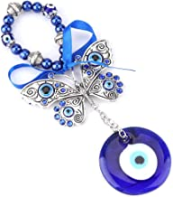 Turkish Blue Evil Eye Blessing Amulet Wall Hanging Home Decor Protector Muslim Good Luck Blessing Housewarming Gift