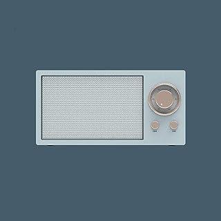 WHSS Smart Speaker Amplificateur, Haut-parleurs portables sans fil, Bluetooth Rétro petit haut-parleur Nouveau Mini, Smart...