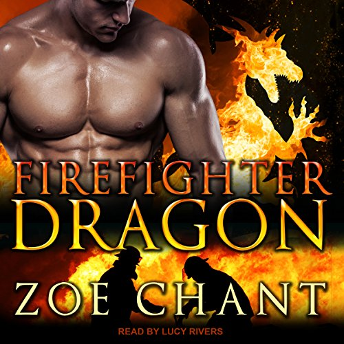 Firefighter Dragon audiobook cover art