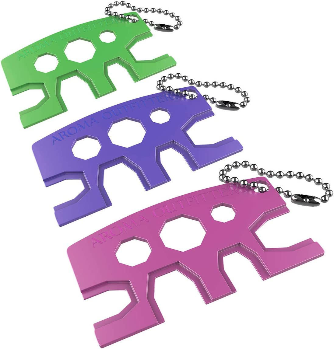 Essential Oil Attention brand Bottle Opener - 3 Easily Tool Pack Key Oils San Jose Mall Metal