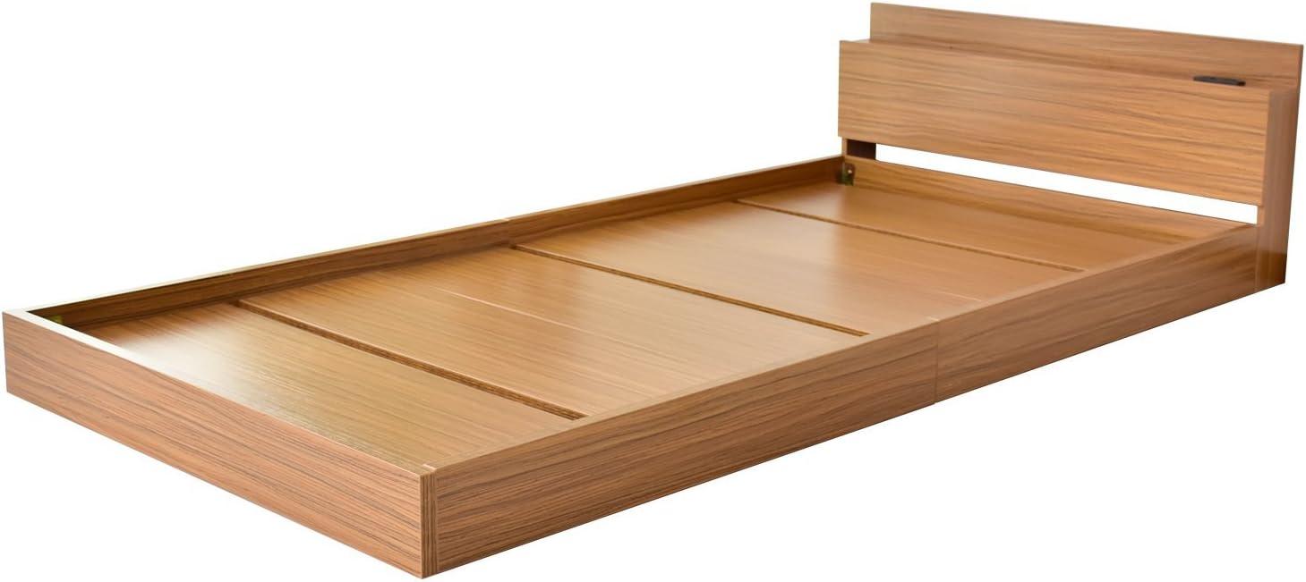 DORIS ベッド ベッドフレーム シングル ロータイプ