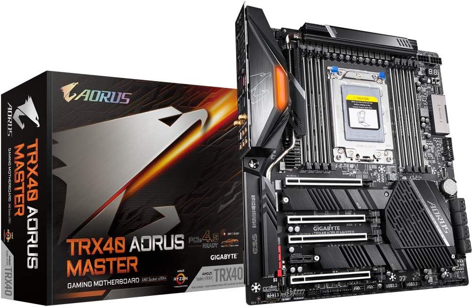 Gigabyte Technology AORUS Trx40 Aorus Master (Socket Trx4/Trx40/DDR4/S-ATA 600/Extended ATX)