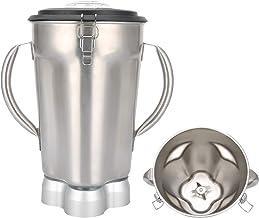 Liquidificador de suco de grande capacidade de 4 litros com 2 alças e capa de montagem de lâmina adequada para liquidifica...