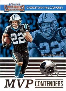2019 NFL Contenders MVP Contenders #15 Christian McCaffrey Carolina Panthers Official Panini Football Trading Card