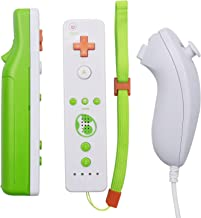 $28 » Zectoo Wii R/L Remote Controller Replacement for Wii/Wii U Console, Motion Plus Wii Nunchuck Controller with Silicone Case...