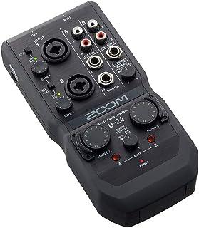 Zoom U-24 - Interfaz de audio