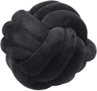 black knot pillow