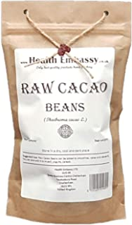 Health Embassy Raw Cacao Beans (Theobroma cacao L.) (225g)