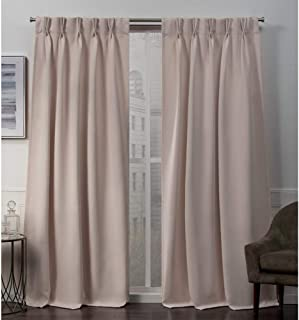 Exclusive Home Curtains Sateen PP Panel Pair, 84