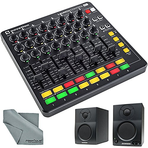 Fantastic Deal! Novation Launch Control XL for Ableton Live & 2-way Active Studio Monitors Bundle wi...