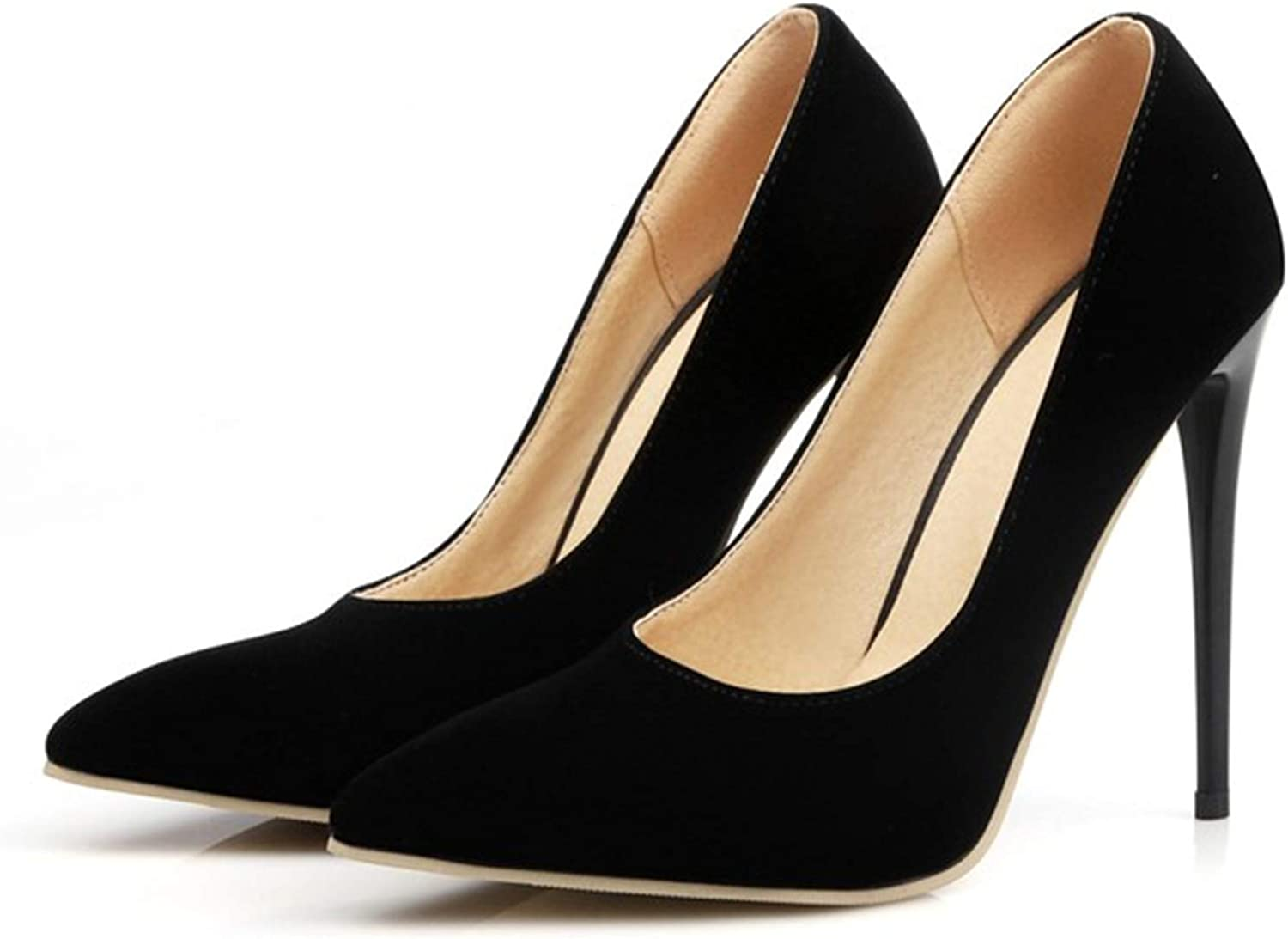 Micca Bacain Apricot Sexy Pointed Toe Women Pumps Platform Pumps High Heels Ladies Wedding Party shoes